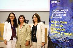 19/09/2019 - 20/09/2019 - Deusto, sede del Congreso Carmona VI sobre la feminización del Derecho Privado