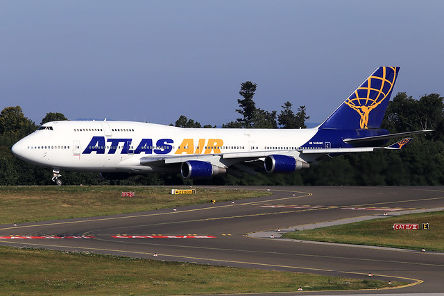 Atlas Air  Boeing 747-446 N464MC