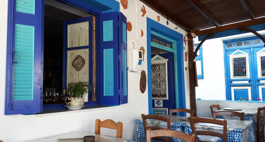 Leuke restaurants op Karpathos: Edem, Olymbos | Vakantie Karpathos