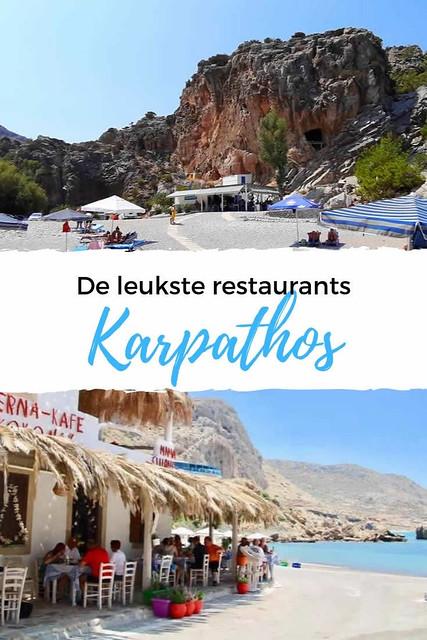 De leukste restaurants op Karpathos | Vakantie Karpathos