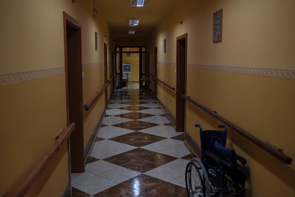Home for old people with dementia in Szamossályi, Hungary