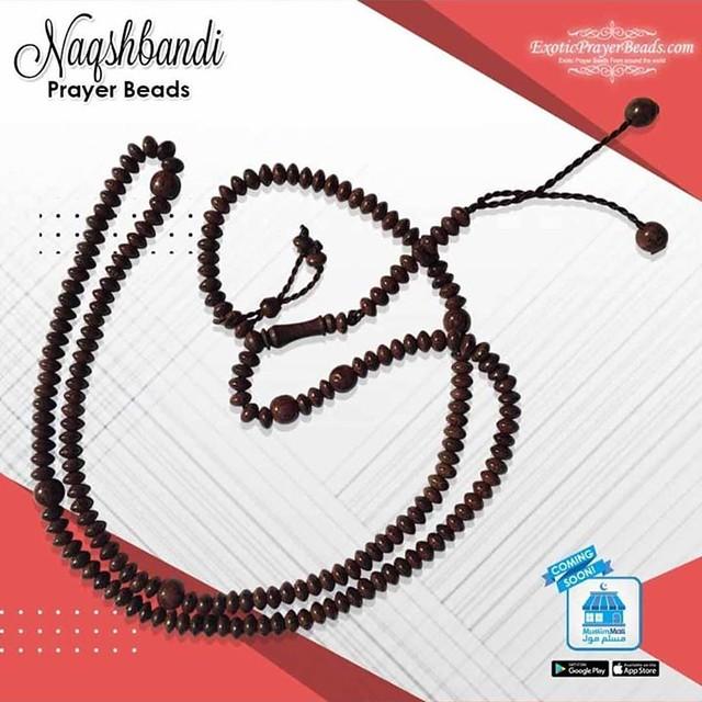 Tamarind Wood Naqshbandi Tasbih Naqshabandiyya