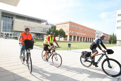 Ruta ciclista literaria y ambiental por el Parque Ribera de Castilla y Campo Grande