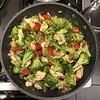 Pesto Chicken with Broccoli and Blistered Cherry Tomatoes #chicken #pistachio #pesto #broccoli #tomatoes #Homemade #Food #CucinaDelloZio -