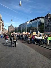 #GlobalClimateStrike #ClimateStrike #KlimaatMars Amsterdam ✊