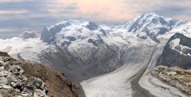 Monte Rosa  massive - Switzerland