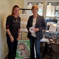 """Rep. Zawistowski stopped by Will Power for Veterans fundraiser at Copper Hill Golf Club in East Granby. Donna Chapman Faenza created the organization which supports veteran suicide prevention and mental health in honor of her son. For more information: <a href=""""http://www.willswillpower.com"""" rel=""""noreferrer nofollow"""">www.willswillpower.com</a>"""