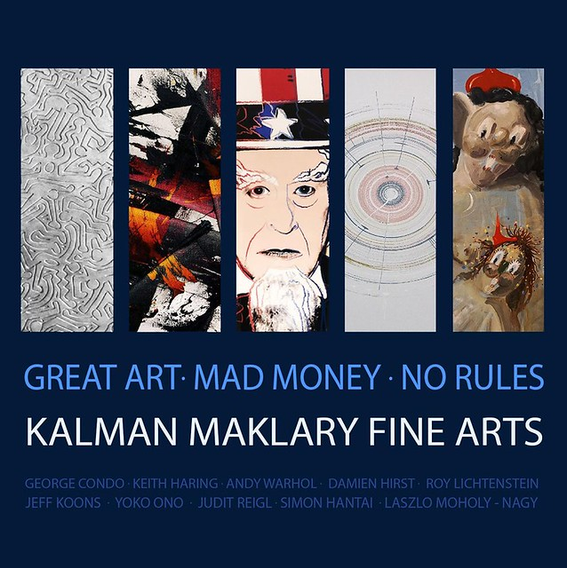 Great art. Mad money. No rules.