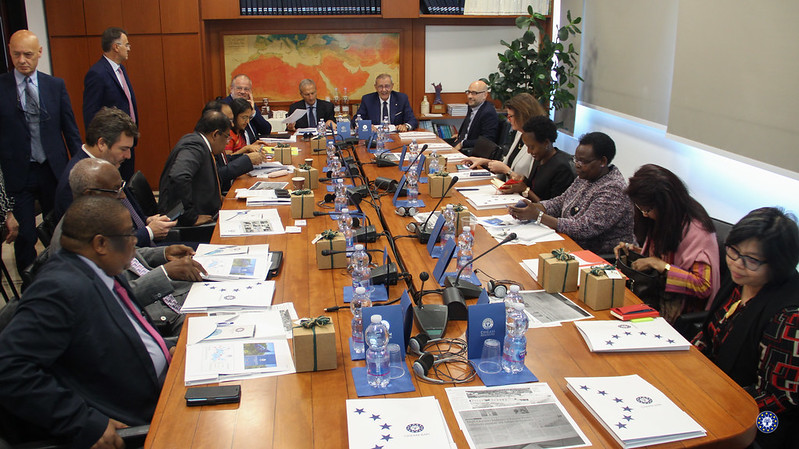 Institutional Visit of IORA Ambassadors and Director General L. Sabbatucci (MAECI -DGMO)