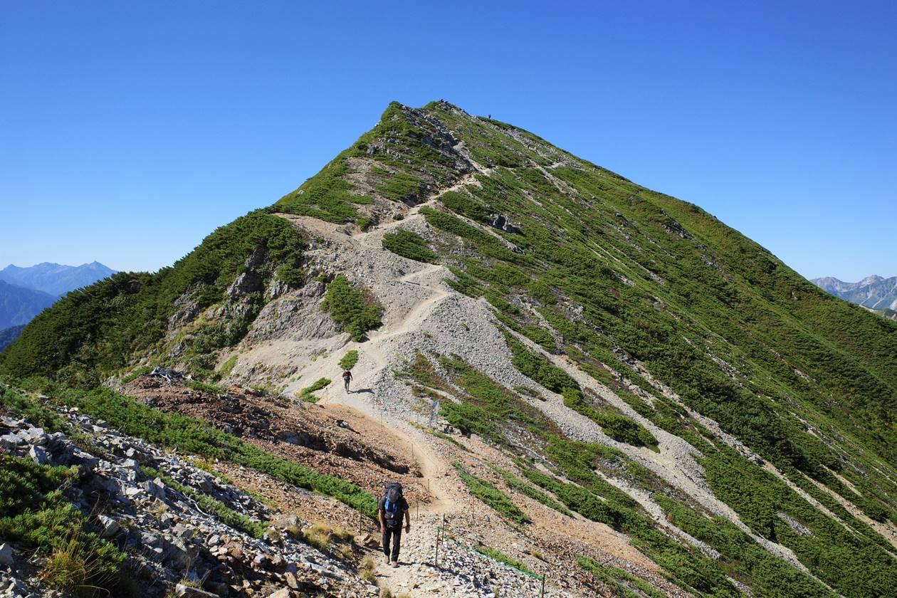爺ヶ岳・南峰