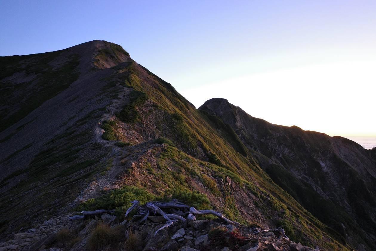 鹿島槍ヶ岳登山