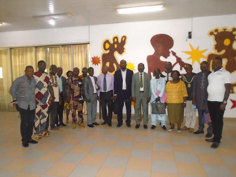 Visite d'une délégation de l'Institut Universitaire de Technologie (IUT) de l'Université Dan Dicko Dan Koulodo de Maradi ( Niger )