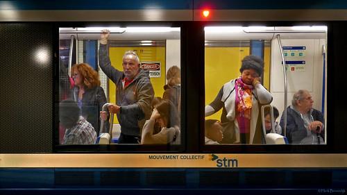 Canada: Montréal metro train