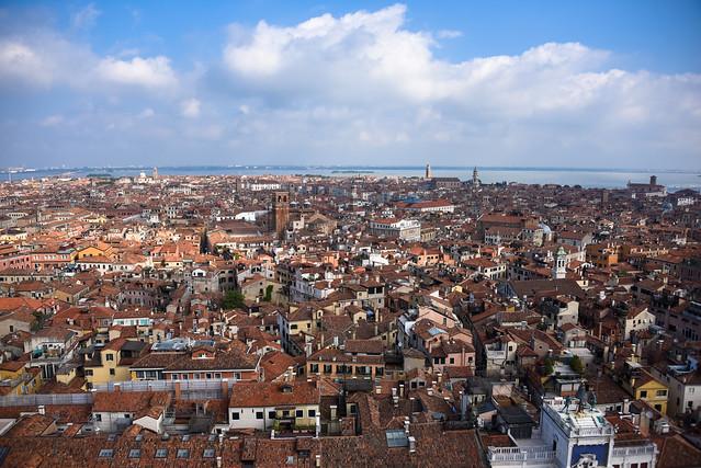 Venice - Campanile view