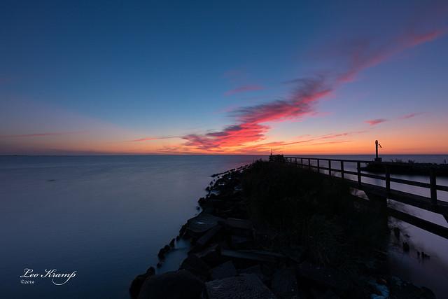 Sunrise | Zonsopkomst Edam - IJsselmeer