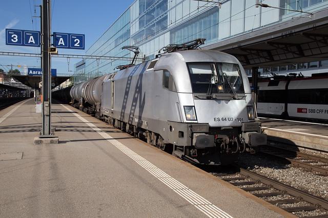 HUPAC 182 601 Aarau (CH)