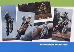 1991 Kawasaki KX UK Brochure