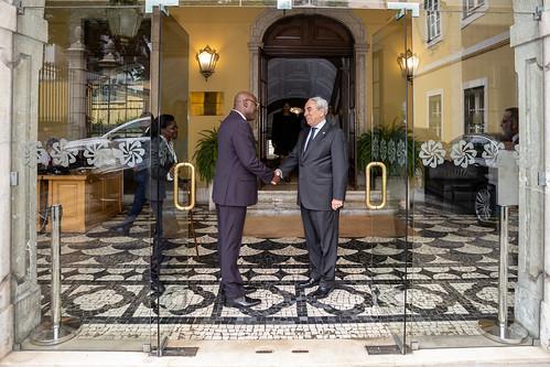 19.09. Secretário Executivo recebe cartas credenciais do Embaixador de São Tomé e Príncipe junto da CPLP