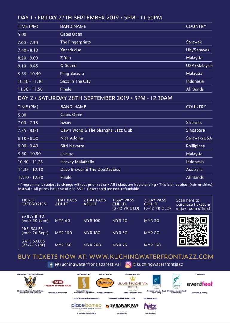 Kuching Waterfront Jazz Festival