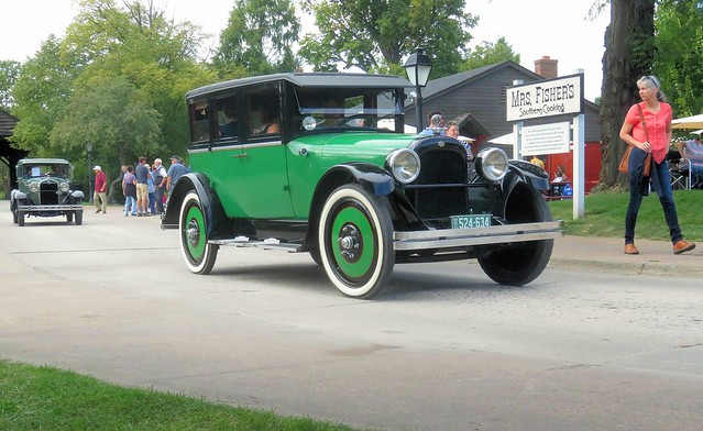 Green Wheeled Nash