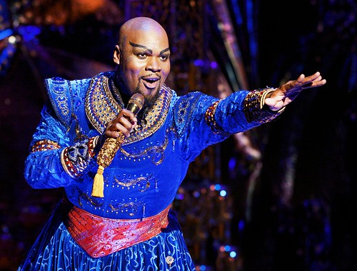 Orlando Native Michael Scott reprises his role as GENIE in ALADDIN in Orlando
