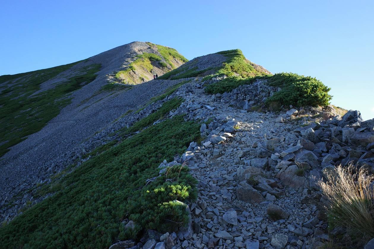 鹿島槍ヶ岳 テント泊登山