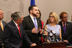House and Senate Republicans held a press conference to call for a special session to undo the tax on groceries included in the Democrat budget.