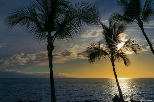 clouds coast hawaii kenmickelphotography landscape maui ocean outdoors seascape seashore sky sunstar wahikuliwaysidepark waterscape nature photography silhouette sunburst sunset water lahaina unitedstatesofamerica