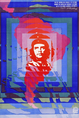Day of the Heroic Guerilla, 1968 © Helena Serrano, OSPAAAL, The Mike Stanfield Collection