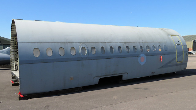 VC-10 fuselage section