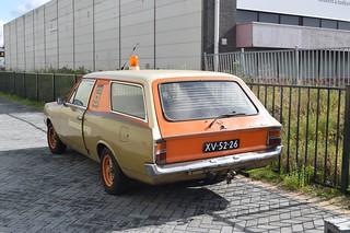 Opel Rekord 1700 bestelwagen 1968