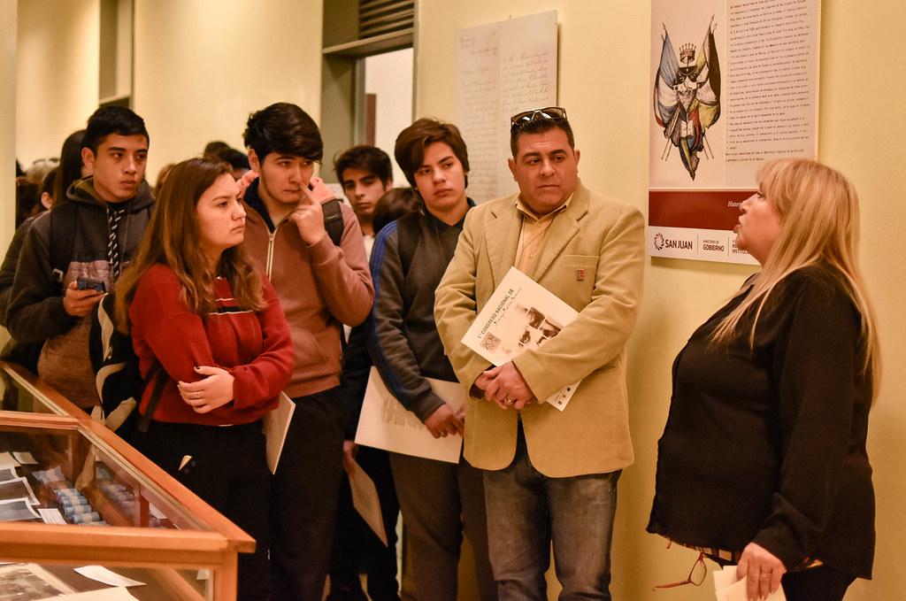 """2019-09-20 Muestra """"Sarmiento y la educación"""""""
