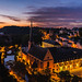 Luxembourg at dawn