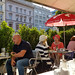 Vienne : à la terrasse du Jamie's Bar