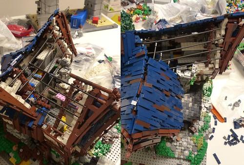 Blacksmith's Workshop - Roof WIP