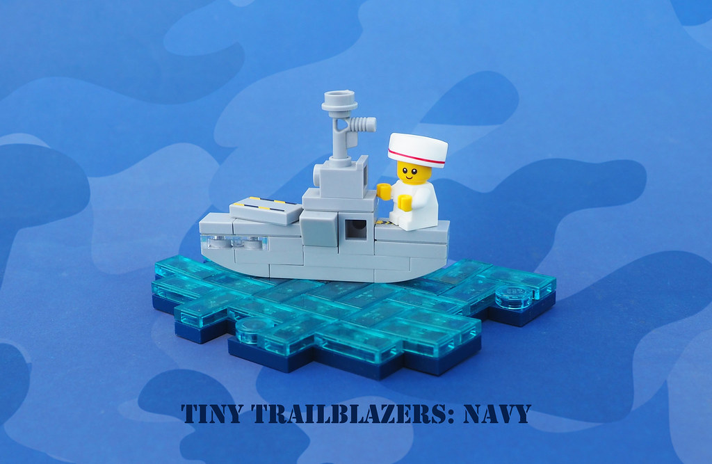 Tiny Trailblazers, Navy