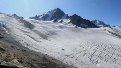 Glacier du Tour and Aiguille du Chardonnet, French Alps