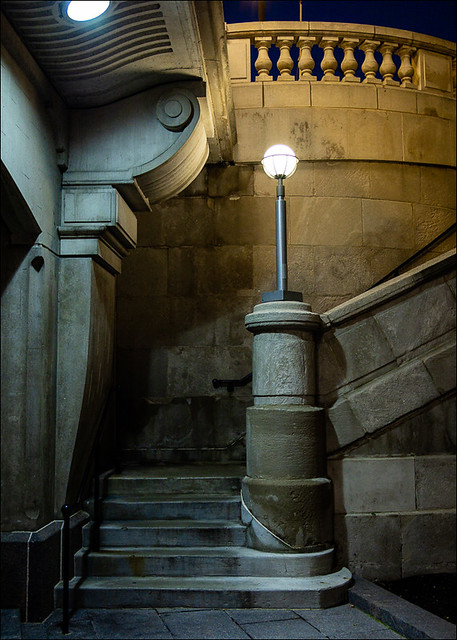 Riverside Light and Stairway  (74482)
