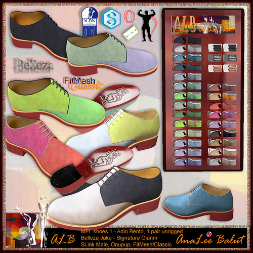 ALB MEL shoes 1 - Bento Belleza Slink Fitmesh Signature -MALE Group FREE