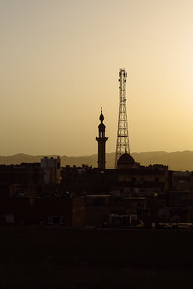 Sunset over El Qoseir, Egypt