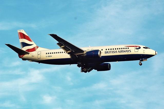 BRITISH AIRWAYS B737 G-DOCA