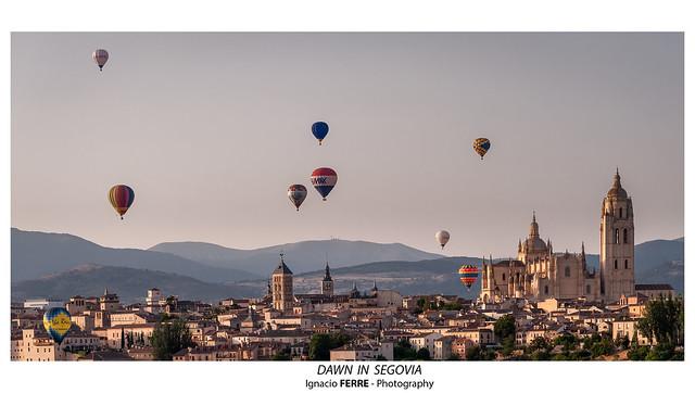 Dawn in Segovia