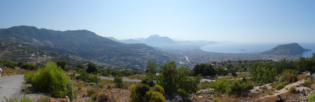 Панорама Аланьи