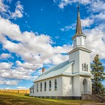 17. September 2019 - 14:53 - The congregation was started by Norwegian homesteaders in 1878.  They built this building in 1911.  The church is still in active use with some of the descendants of the original founders in attendance.