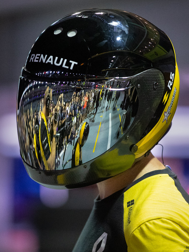 Visor reflection