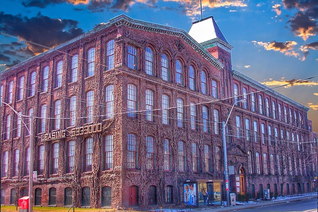 Toronto Carpet Factory 10 years Ago ~ Toronto Ontario Canada