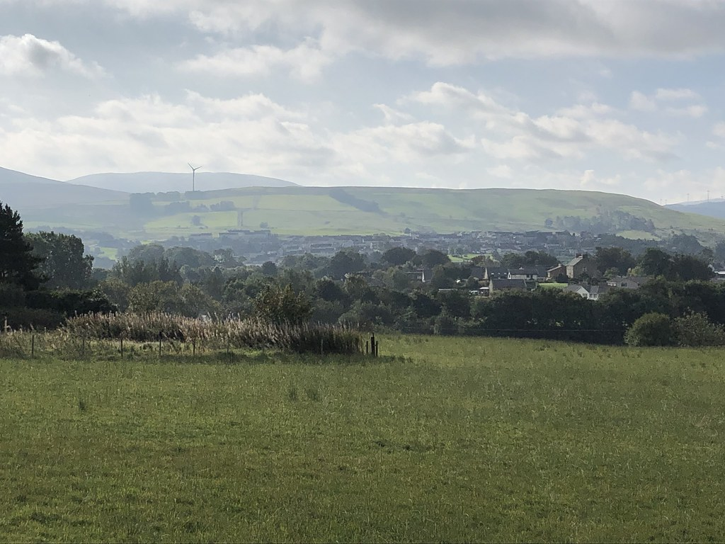 View from New Cumnock