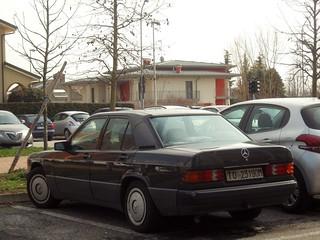 Mercedes W201 190 2.0 E 1989