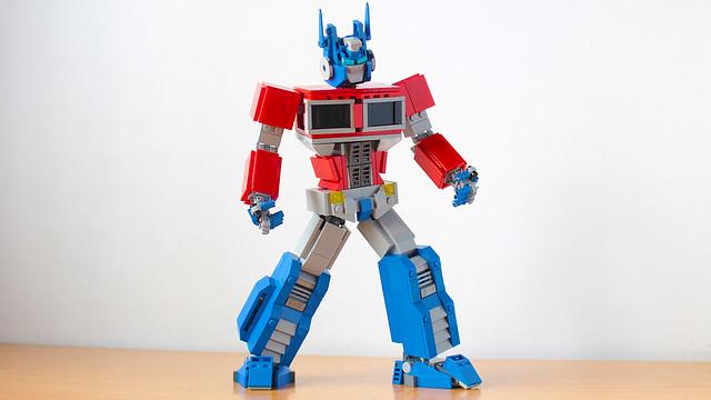 Lego Optimus Prime G1