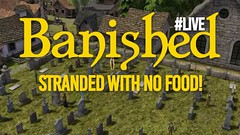 🏠 Banished ️ Let's Play #LIVE #01